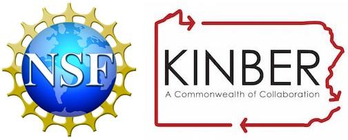 NSF and KINBER logos
