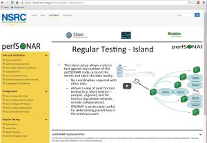 perfSONAR Video Training Screenshot